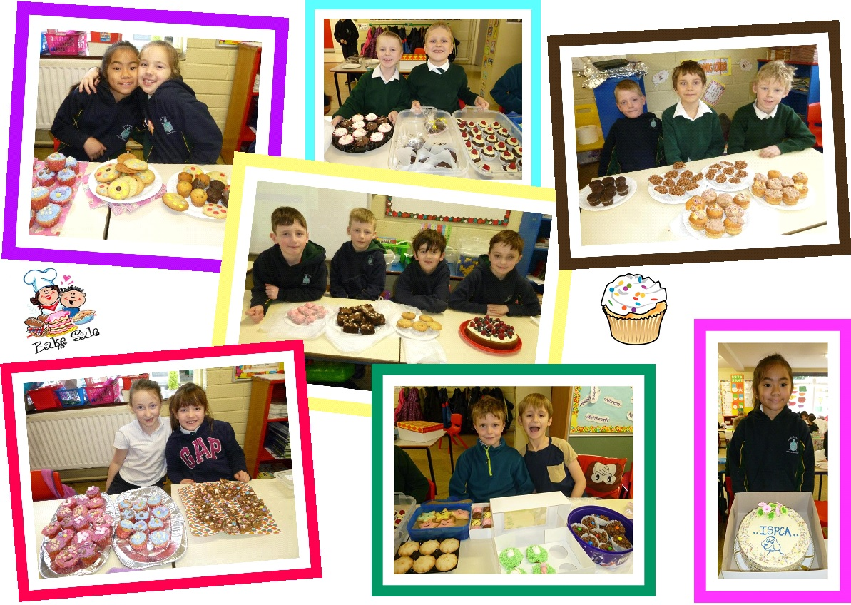 bake sale for ispca b