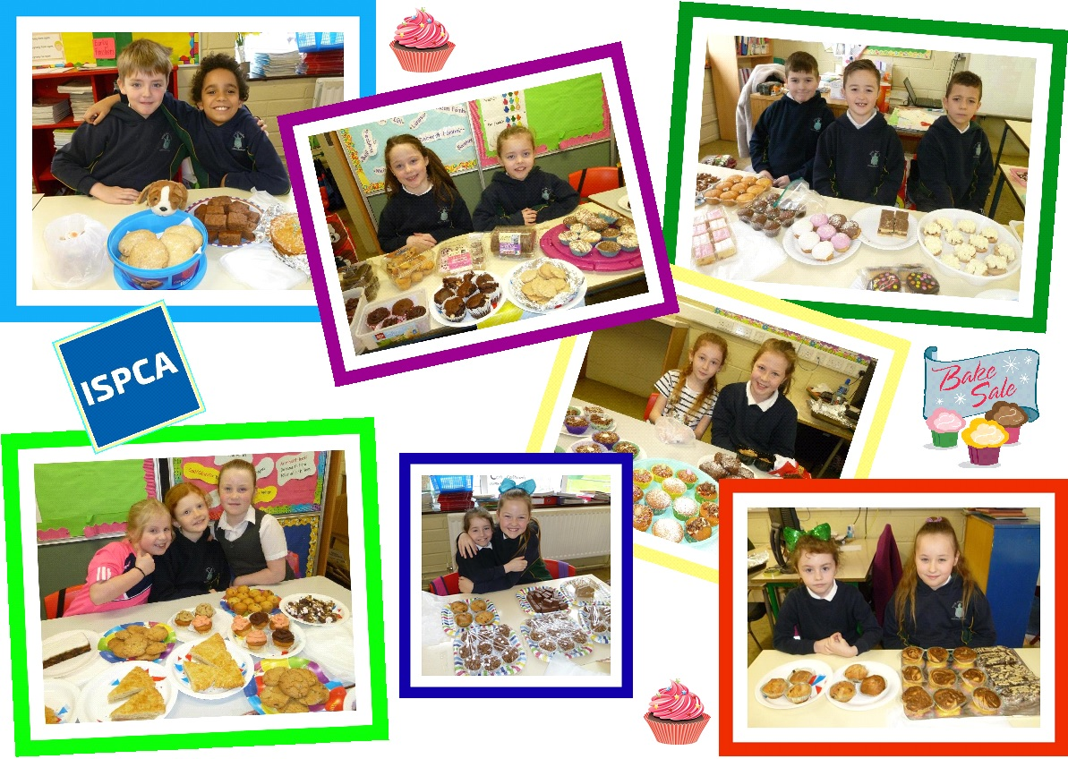 bake sale for ispca