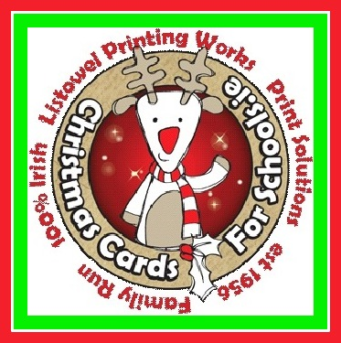 christmas cards for schools logo