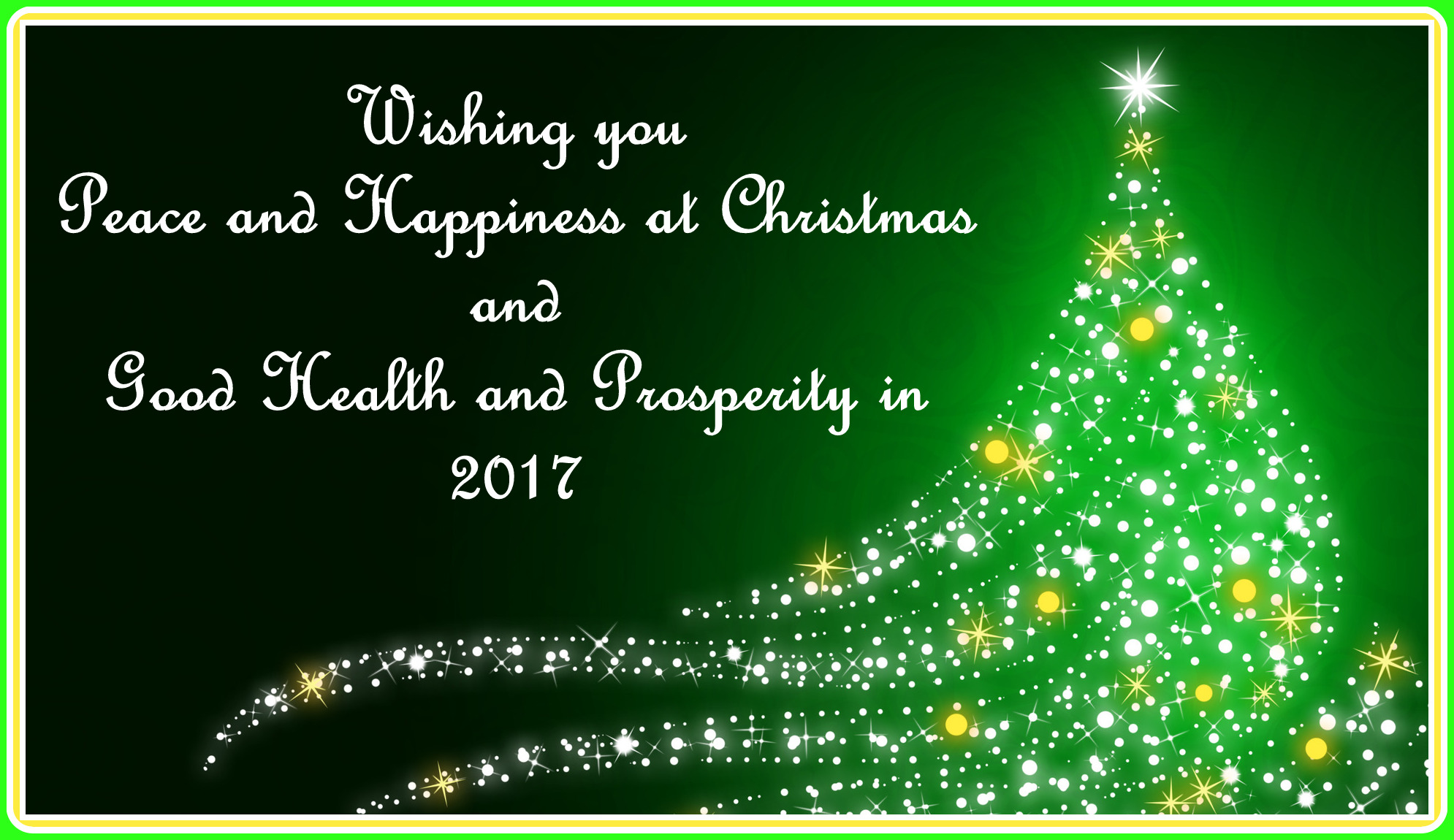 christmas message 2016
