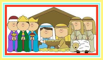 christmas play clip art