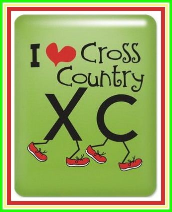 i heart cross country running