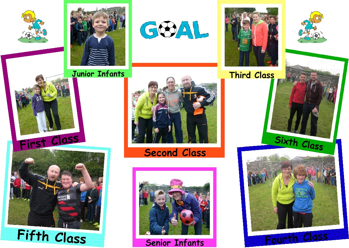 fun friday - penalty shoot winners