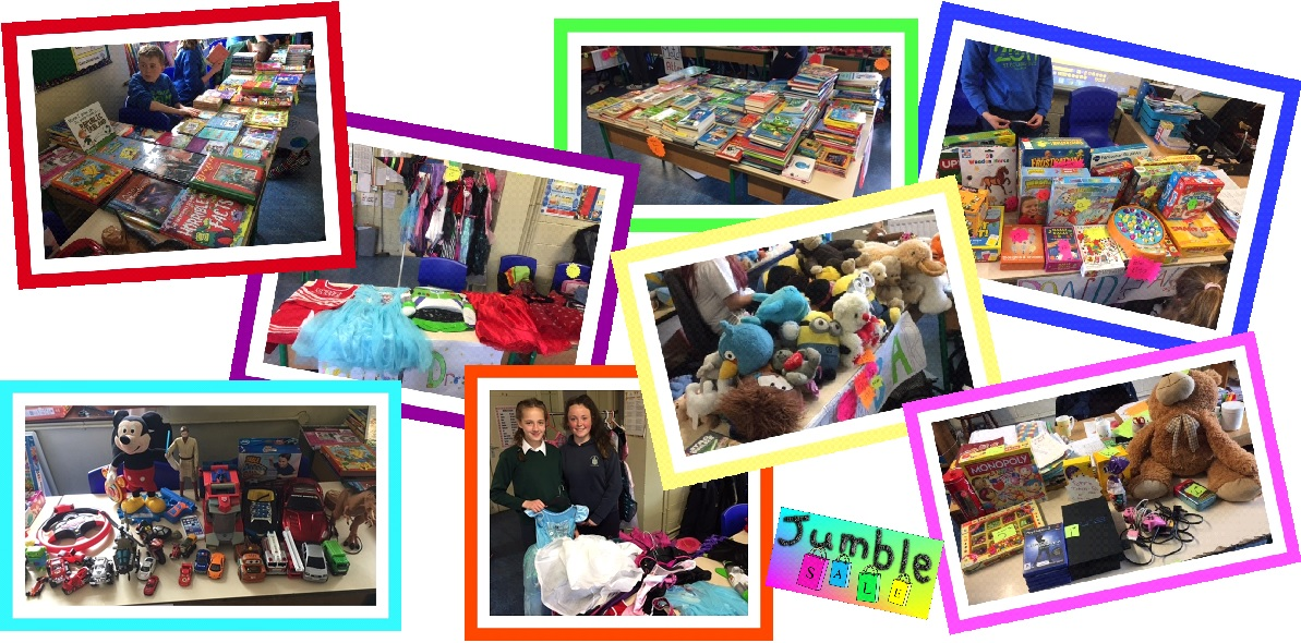 just a reminder - sixth class jumble sale b