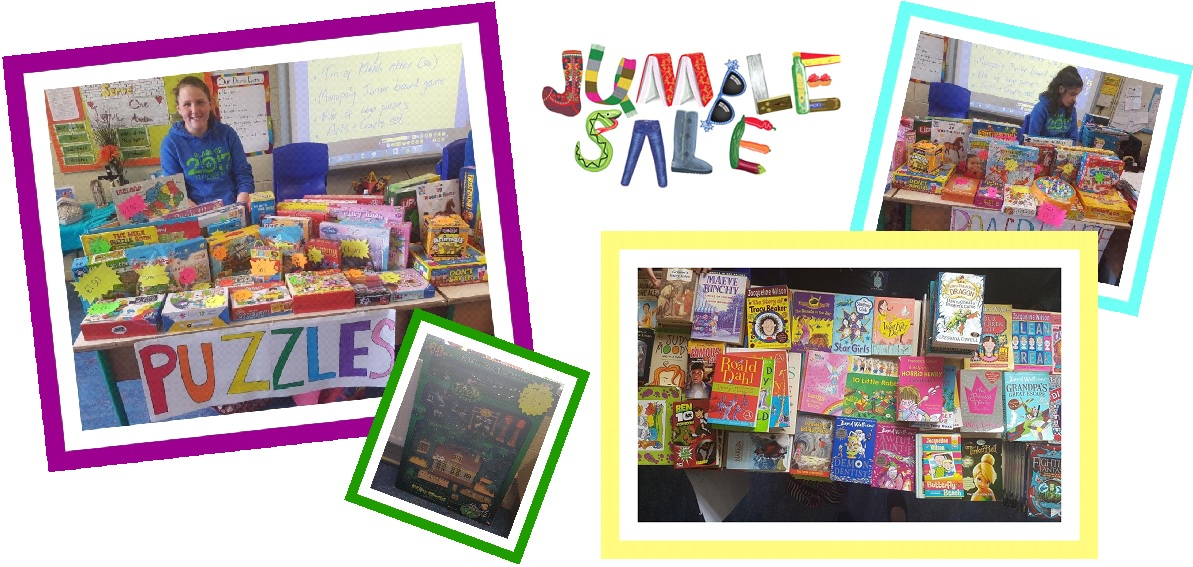 just a reminder - sixth class jumble sale
